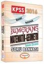 2016 KPSS Bumerang Matematik-Geometri Tamamı Çözümlü Soru Bankası Yediiklim Yayınları