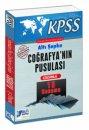 2016 KPSS Coğrafyanın Pusulası Çözümlü 15 Deneme Altı Şapka Yayınları