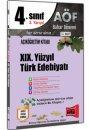 4. Sınıf 8. Yarıyıl XIX. Yüzyıl Türk Edebiyatı Kod:8137 Yargı Yayınları