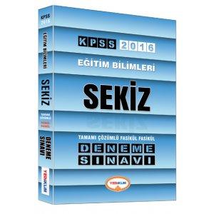 2016 KPSS Eğitim Bilimleri Tamamı Çözümlü 8 Fasikül Deneme Sınavı Yediiklim Yayınları