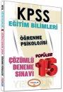 2016 KPSS Eğitim Bilimleri Öğrenme Psikolojisi Çözümlü 15 Deneme Sınavı Yediiklim Yayınları