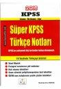 2016 KPSS S�per T�rk�e Ders Notlar� Pratik Kaynak Yay�nlar�