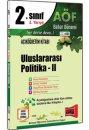 2.Sınıf 4.Yarıyıl Uluslararası Politika II Kod:4195 Yargı Yayınları
