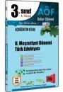 3.Sınıf 6.Yarıyıl II. Meşrutiyet Dönemi Türk Edebiyatı Kod:6146 Yargı Yayınları