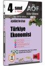 4.Sınıf 8.Yarıyıl Türkiye Ekonomisi Kod:8130 Yargı Yayınları