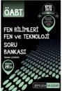 2016 ÖABT Fen Bilimleri Fen ve Teknoloji Öğretmenliği Tamamı Çözümlü Soru Bankası Seti Pegem Yayınları