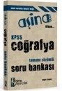 2016 KPSS Coğrafya Aşina Tamamı Çözümlü Soru Bankası İsem Yayınları