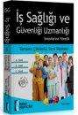 2016 İş Sağlığı ve Güvenliği Uzmanlığı Tamamı Çözümlü Soru Bankası İsem Yayınları