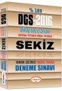 2016 DGS Tamamı Çözümlü 8 Fasikül Deneme Sınavı Yediiklim Yayınları