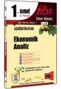 1.Sınıf 2.Yarıyıl Ekonomik Analiz Kod:2113 Yargı Yayınları