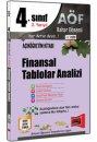 4.Sınıf 8.Yarıyıl Finansal Tablolar Analizi Kod:8109 Yargı Yayınları