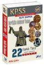 2016 KPSS Tarihin Ustasından Tamamı Çözümlü 22 Farklı Tarz Deneme Altı Şapka Yayınları
