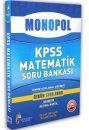 2016 KPSS Matematik Tamam� A��klamal� ��z�ml� 1390 Soru Monopol Yay�nlar�