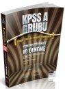 2017 KPSS A Grubu Tamamı Çözümlü 10 Deneme Savaş Yayınları