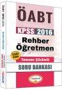 2016 ÖABT Rehber Öğretmenliği Tamamı Çözümlü Soru Bankası Yediiklim Yayınları
