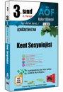 3.Sınıf 6.Yarıyıl Kent Sosyolojisi Kod:6118 Yargı Yayınları