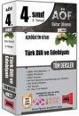 4.S�n�f 8.Yar�y�l T�rk Dili ve Edebiyat� T�m Dersler Kod:8008 Yarg� Yay�nlar�