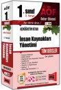 1. S�n�f 2. Yar�y�l �nsan Kaynaklar� Y�netimi T�m Dersler Kod:2009 Yarg� Yay�nlar�