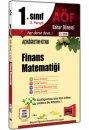 1.S�n�f 2.Yar�y�l Finans Matemati�i Kod:2116 Yarg� Yay�nlar�