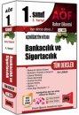 1. S�n�f 2. Yar�y�l Bankac�l�k ve Sigortac�l�k T�m Dersler Kod:2002 Yarg� Yay�nlar�