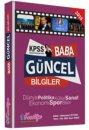 2016 KPSS BABA Güncel Bilgiler Deneme Kocatepe Akademi Yayınları
