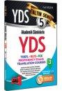 YDS Akademik C�mlelerle YDS-TOEFL-IELTS-FCE Alt�n Seri 5 Yarg� Yay�nlar�
