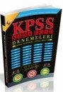 2016 KPSS Kara Kutu Genel K�lt�r Genel Yetenek 10 Deneme �nformal Yay�nlar�