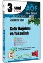 3.S�n�f 6.Yar�y�l Gelir Da��l�m� ve Yoksulluk Kod:6109 Yarg� Yay�nlar�