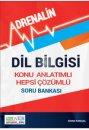 Dil Bilgisi Konu Anlatımlı Hepsi Çözümlü Soru Bankası Adrenalin Yayınları