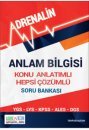 Anlam Bilgisi Konu Anlatımlı Hepsi Çözümlü Soru Bankası Adrenalin Yayınları
