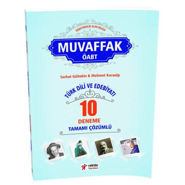 2016 Muvaffak Türk Dili ve Edebiyatı Tamamı Çözümlü 10 Deneme RY Rektör Yayınları