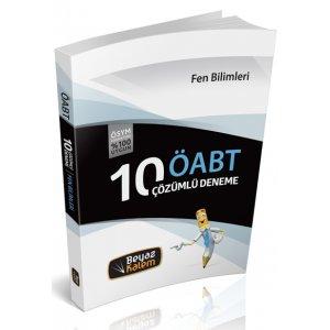 2016 ÖABT Fen Bilimleri Öğretmenliği Çözümlü 10 Deneme Sınavı Beyaz Kalem Yayınları