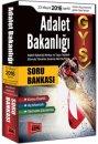 2016 GYS Adalet Bakanlığı Konu Özetli Açıklamalı Tamamı Çözümlü Soru Bankası Yargı Yayınları
