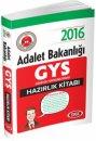 2016 GYS Adalet Bakanlığı Hazırlık Kitabı Data Yayınları