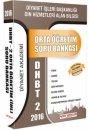 2016 DHBT 2 Orta Öğretim Soru Bankası DDY Yayınları
