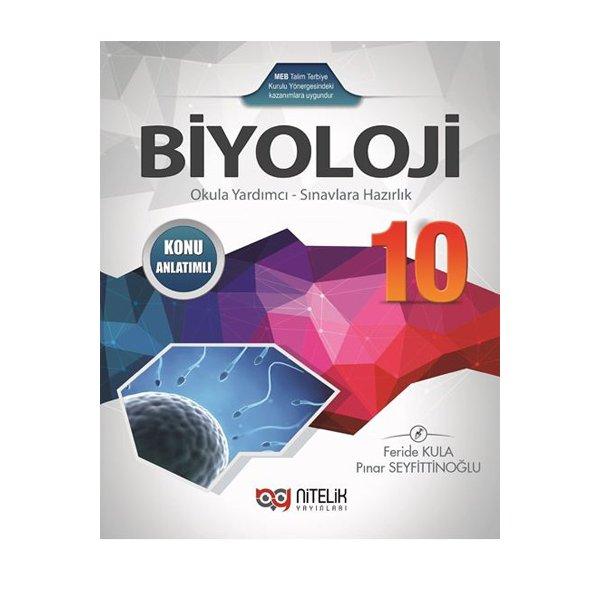 10sınıf Biyoloji Konu Anlatımlı Kitap Nitelik Yayınları