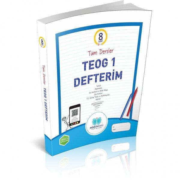 8.Sınıf Tüm Dersler TEOG-1 Defterim Sözün Özü Yayınları