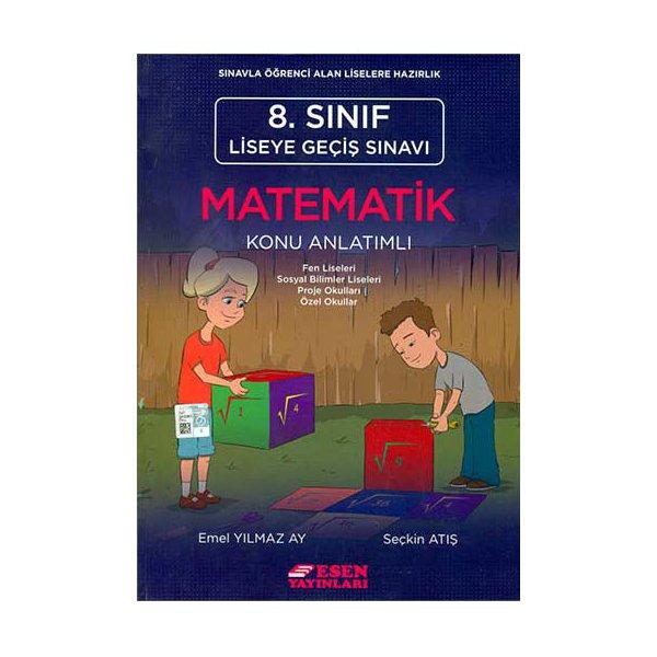 8. Sınıf Matematik Konu Anlatımlı Esen Yayınları
