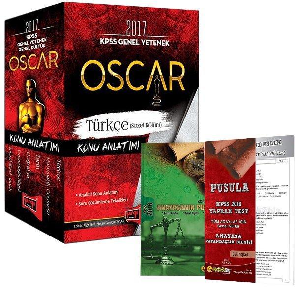 2017 KPSS Genel Kültür Genel Yetenek Oscar Konu Anlatımlı Modüler Set Yargı Yayınları Anayasa Pusula Konu Yaprak Hediye
