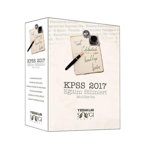 2017 KPSS Eğitim Bilimleri Konu Anlatımlı Modüler Set Yediiklim Yayınları