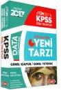 2017 KPSS Genel Kültür Genel Yetenek Konu Anlatımlı Özel Tek Kitap Data Yayınları