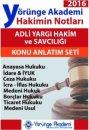 2016 Adli Yargı Hakimin Notları Seti Yörünge Akademi Yayınları