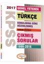2017 KPSS Genel Yetenek Türkçe Konularına Göre Düzenlenmiş Tamamı Çözümlü 1999-2016 Çıkmış Sorular Yediiklim Yayınları