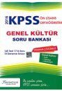 2016 KPSS Orta��retim �nlisans Genel K�lt�r Tamam� ��z�ml� Soru Bankas� X Yay�nc�l�k