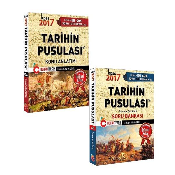 2017 KPSS Tarihin Pusulası Konu Soru Seti İsmail Adıgüzel Doğru Tercih Yayınları
