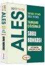 2017 ALES Tamamı Çözümlü Soru Bankası Yediiklim Yayınları
