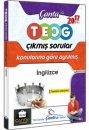 8.Sınıf İngilizce TEOG Konularına Göre Ayrılmış Çıkmış Sorular Çanta Yayınları