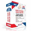 2018 KPSS Genel Yetenek Genel Kültür Tamamı Çözümlü Soru Bankası 5 li Modüler Set Lider Yayınları