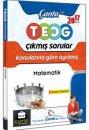 8.Sınıf Matematik TEOG Konularına Göre Ayrılmış Çıkmış Sorular Çanta Yayınları