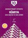 Karekök Yayınları 10. Sınıf Modüler Piramit Sistemiyle Kimya Konu Anlatımı ve Soru Çözümü